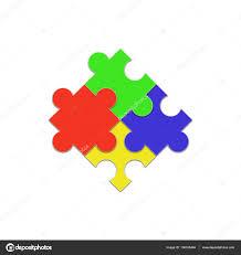 Jigsaw Puzzle Papier Design Stockfoto Meenstockphoto Gmail Com