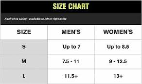 Trilok Ankle Brace Size Chart Aircast Ankle Brace Airlift Pttd Posterior Tibial Tendon