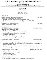 healthcare administration cover letter bunch ideas of healthcare administrator resumes hospital