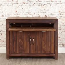 traditional hidden home office desk. hidden home office baumhaus mayan walnut desk cwc06a traditional e