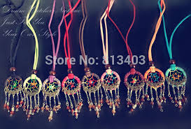How To Make An Indian Dream Catcher Cool New Indian Dream Catcher Necklace With Small Bell And Crystal Balls