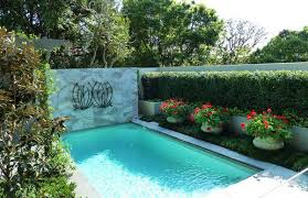 Small Picture Extraordinary Pool Garden Design With Additional Furniture Home
