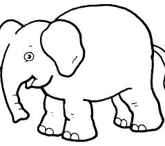 Elephant To Color Theaniyagroupcom
