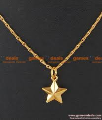 smdr26 gold plated jewellery shinning star design pendant short chain south indian jewelry 130 1 850x1000 jpg