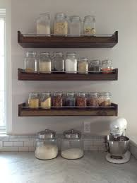 Rustic Kitchen Shelving Cabinets Storages Rustic Wooden Open Kitchen Shelving For White