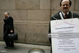 USA - Employment - Man Seeking Job on the Street