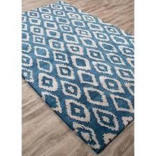 indigo blue rug ikat kilim