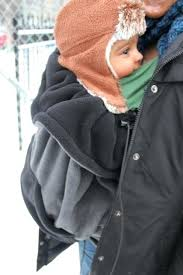 Baby Carrier Winter Cover Warm Winter Cover For Baby In Ring Sling ...