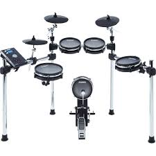 alesis mand mesh 8 piece electronic drum kit