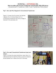 how to make a bi toroid transformer and exceed 100 % efficiency Toroidal Transformer Wiring Diagram the input current is 0 071 amps 8 toroidal transformer circuit diagram