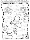 Раскраски для мальчиков карты