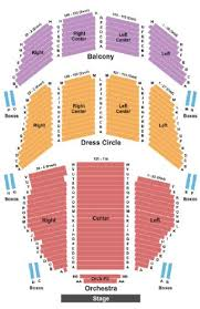 Colonial Theater Seating Chart Citi Emerson Colonial Theatre Tickets And Citi Emerson
