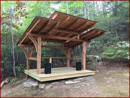 outdoor wood patio ideas. Perfect Patio The Best Outdoor Stage Ideas Picture Of Backyard Wood Patio Trend And  Covers To