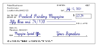 How To Fill Out A Check We Demonstrate How To Write A Check