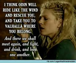 Vikings Love The Relationship Between Ragnar And Lagertha Awesome Viking Love Quotes