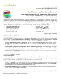 Public Relations Manager Resume Ultimate Public Relations Resume