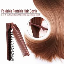 <b>Складная расческа для волос</b>, аксессуары для парикмахеров ...