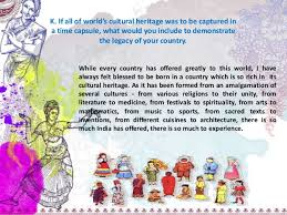 ie application essay k if all of the world acirc acute s cultural herit culture of 2