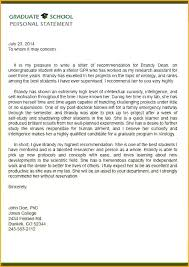 Personal Character Recommendation Letter For School High Student ...