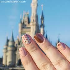 Rose Gold Minnie Mouse Nails | Disney Nail Art! – NailsByErin