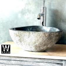 stone vessel bathroom sinks natural sink great for bath