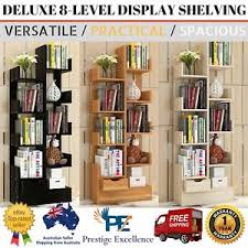 deluxe wooden home office. Brilliant Deluxe Image Is Loading 15mWoodenBookcaseHomeOfficeShelfOrnaments For Deluxe Wooden Home Office