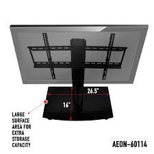 vizio tv stand. universal tv stand with storage - fits samsung, vizio, lg, sony and more vizio tv