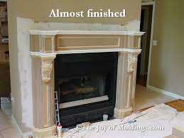 how to build fireplace mantel 103 part 10 paneled frieze
