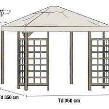 pergola with slatted roof lafayette