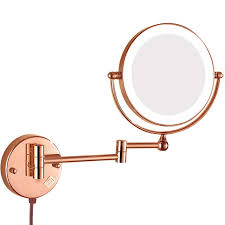 bathroom magnifying mirror. GuRun Lighted Magnification Wall Mount Bathroom Makeup Mirror Swivel Extendable Mirrors With Electrical Plug, Magnifying E