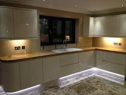 led kitchen lighting functional and help the kitchen