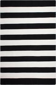 impressive nantucket hand woven black indooroutdoor area rug reviews throughout black and white area rugs modern