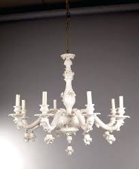 italian porcelain chandelier mid century vintage white porcelain chine chanlier for antique italian porcelain chandeliers