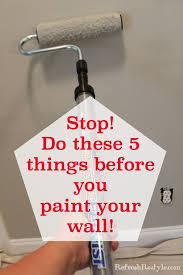 5 tips for a more professional look how to repair a wall and paint it