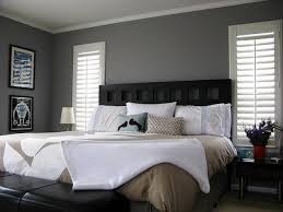 decorate bedroom with grey walls