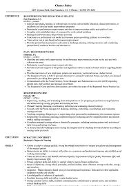 Occupational Health Nurse Resume Sample Registered Nurse Resume Samples Velvet Jobs 27