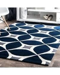 navy blue geometric rug tips next