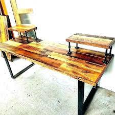 industrial metal coffee table industrial metal coffee table legs projects with pipe desk by met industrial