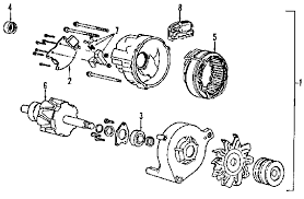 alternator rebuilding ford explorer and ford ranger forums here s a break out schematic of my 86 91 aerostar alternator