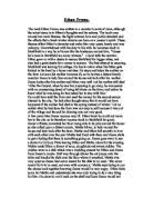 ethan frome zeena gcse english marked by teachers com how did ethan try to escape starkfield