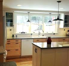 kitchen sink lighting. Pendant Light Over Kitchen Sink Best Lighting Ideas On Beach Style 7 From Placement Of I