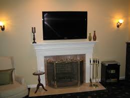 where to put cable box with tv over fireplace part 15 tv over fireplace