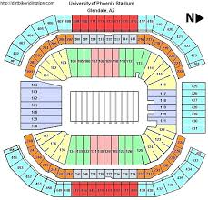 Final Four Seating Chart University Of Phoenix Stadium Seating Chart