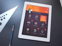 Ipad Web Design App Mbn Ipad App Murat Ak Art Director Ui Ux Designer Web