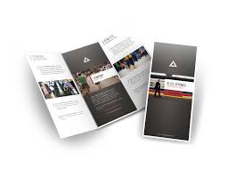 brochure design template free download