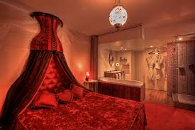 sexy bedroom lighting. Red Represents Passion, Lust And Fire, That\u0027s What You\u0027ll Feel The Moment You Step Into 3.14 Hotel\u0027s Parisian-inspired Room. There\u0027s Also A Couple Sexy Bedroom Lighting