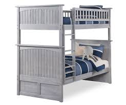 Nantucket Bedroom Furniture Nantucket Twin Over Twin Bunk Bed Ab59108 Atlantic Furniture
