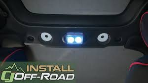 Jeep Wrangler Interior Lights Stay On Jeep Jk Wrangler Interior Dome Light Kit Led 2 Door 2007 2018 Installation