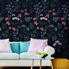 flower stencils for wall painting