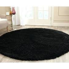 small size of 7 foot round rug pad california black 6 ft 7 in x